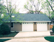 Gable Garage 40by27 Reverse