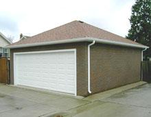 Hip Garage 22by24 Brick