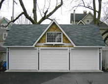 Custom Garage 31by22 Reverse Gable Garage