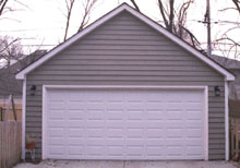 Gable Garage 20by22 White