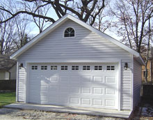 Gable Garage 20by24