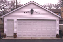 Gable Garage 22by22 With Lamp