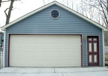 Gable Garage 22by22 blue